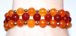 Handmade agate bracelet