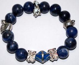 Handmade sodalite bracelet