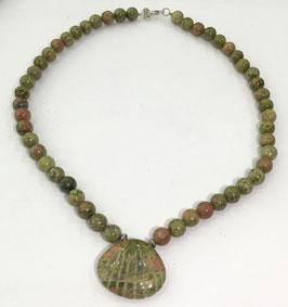 Ukanite necklace