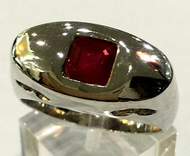 Ring with ruby, 138 ct.