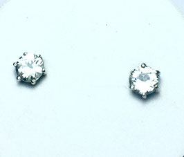 Studs with cubic zirconia