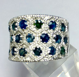 Ring with Sapphires, 2,4 ct.