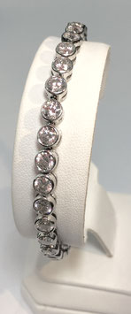 Bracelet with 33 CZ diamonds
