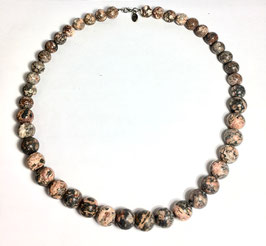 One of a kind handmade necklace with jasper beads