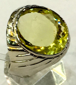 Ring with citrin, 8.1 ct