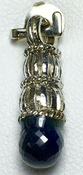 Pendant with sapphire, 2,14 ct.