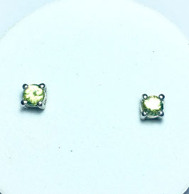 Studs with sapphires 0,42 ct.