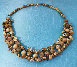 Jaspis necklace, 46 cm, handmade