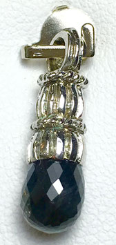 Pendant with sapphire, 2,25 ct.