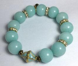 Handmade larimar bracelet