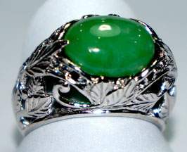Ring with Chrysopras