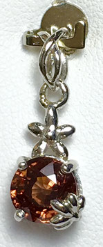 Pendant with cirkone, 2,48 ct.
