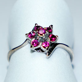 Ring with 7 Rubies