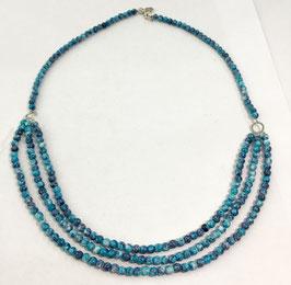 Jasper necklace, 50 cm