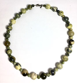 One od a kind handmade necklace with Jasper beads