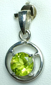 Pendant withPeridot, 1,36 ct.