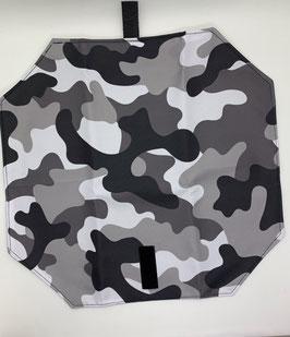 Jausenpocket Camouflage grau