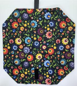 Jausenpocket Blume bunt