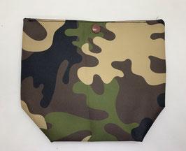Mini-Lunchbag Camouflage grün