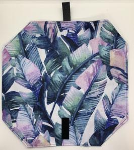 Jausenpocket Blatt lila