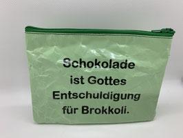 Lächle Täschchen - Schokolade