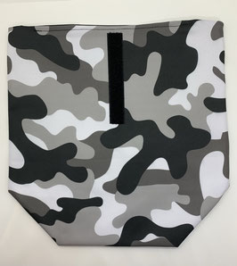 Lunchbag Camouflage grau