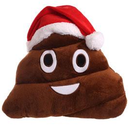 Weihnachten Emojikissen-Kackhaufen