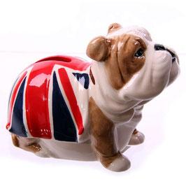 Spardose Britsche Bulldogge Union Jack