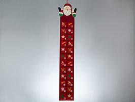 Weihnachten Adventskalender Weihnachtsmann aus Filz