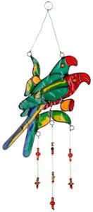 Sonnenfänger Suncatcher Fensterschmuck Papagei