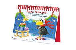 Alles Advent!, Das Aufstell-Adventskalenderbuch vom kleinen Raben Socke