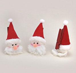 Weihnachten Geschenks-Klammer Set 3tlg.