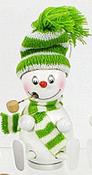 Weihnachten Räuchermännchen Räucherschneemannfigur 13 cm