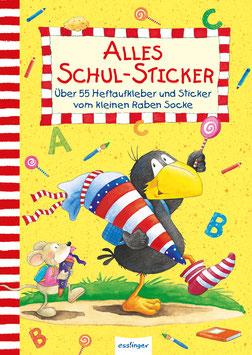 Der kleine Rabe Socke  Alles Schul-Sticker
