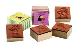 Stempel-Set 4teilig Kleiner Rabe Socke