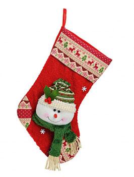 Weihnachten Nikolausstiefel-Weihnachtsstiefel Schneemann