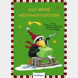 Rabe Socke Weihnachts Stickerheft
