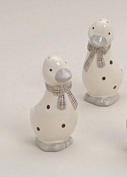 Salz-Pfefferstreuer Ente Keramik