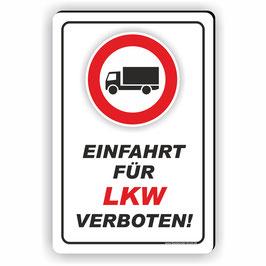 D-012 Einfahrt für LKW verboten