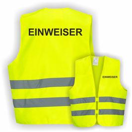 Warnweste GELB DIN EN 471 EINWEISER