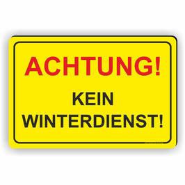 WI-001 Achtung kein Winterdienst