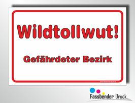 T-028 Wildtollwut / Gefährdeter Bezirk