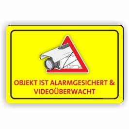 VÜ-005 Objekt ist alarmgesichert & Videoüberwacht