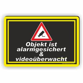D-037 Videoüberwachung Schild