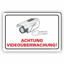 VÜ-004 Achtung Videoüberwachung!