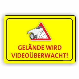 VÜ-007 Gelände wird videoüberwacht
