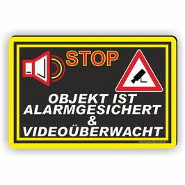 D-003 Alarmgesichert Videoüberwacht