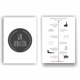 HO-010 Einladungskarte - Chronolgie 2