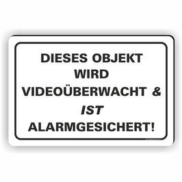 VÜ-012 Objekt wird Videoüberwacht
