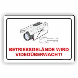 VÜ-002 Betriebsgelände wird Videoüberwacht!